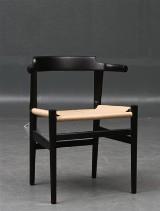 Hans J. Wegner. Four armchairs, model PP68 (4)