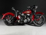 Harley Davidson, Knucklehead 37 EL, Fully restored