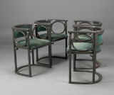 Josef Hoffmann, Wittmann. 'Fledermaus' armchairs (4)