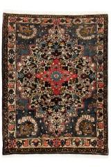 Persisk Bakhtiari tæppe, 137x103 cm.