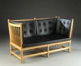 Børge Mogensen. Spoke Back sofa, model 1789, beech