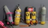 Dykkerflasker samt Diveman iltbeholder model 620 (5)