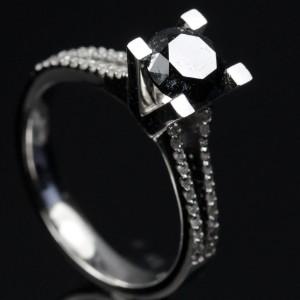 Diamant ring ca. 1.66 ct.