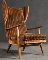 Ohrenbackensessel / Ohrensessel / Lounge Sessel, Knoll Antimott