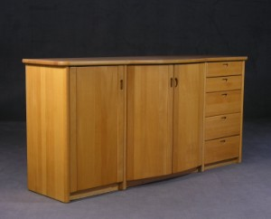 m bel helge schultz sideboard aus der 39 bu niik 39 serie de hamburg gro e. Black Bedroom Furniture Sets. Home Design Ideas