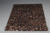 Koskindstæppe. Patchwork, 210 x 153 cm.
