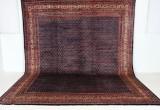 Tæppe, håndvævet Boteh Mir, 426x333 cm.