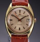 Vintage Jaeger-LeCoultre men's watch, gilt steel, date display, 1960's