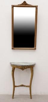 Spegel med konsolbord, empirestil, 1900-tal (2)