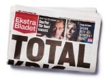 Halvsides annonce i Ekstra Bladet