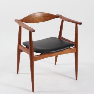 hans j wegner stol Hans J. Wegner. Teak chair, model CH 35 | Lauritz.com hans j wegner stol