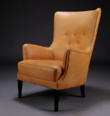 Frits Henningsen, wing chair, 1940s