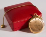 Gold Omega pocketwatch (with 585 chain)