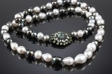 South Sea and Tahiti saltwater cultured pearl necklace