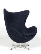 Arne Jacobsen. The Egg. Lounge chair, new upholstery