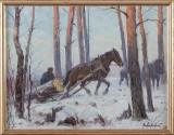Alexander Langlet oljemålning
