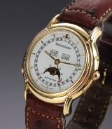 Jaeger-LeCoultre Odysseus full calendar men's watch, 18 kt. gold, 1990's