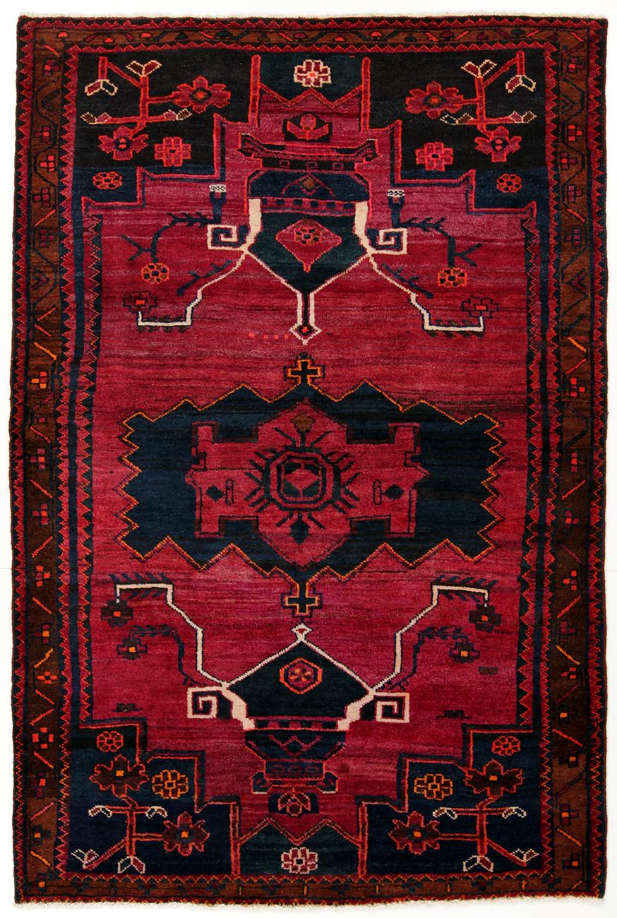 Persisk Lori 217 x 146 cm - Persisk Lori 217 x 146 cm Håndknyttet uld på bomuld