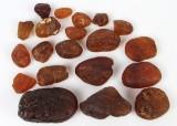 Kopal rav, samling på ca. 440 gram (20)