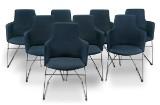 Niels Gammelgaard. Eight chairs, model 'Fortuna' (8)