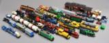 Lego. Samling lokomotiver, togvogne, skinner m.m.