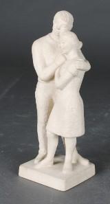 David Wretling, skulptur, höjd 28 cm