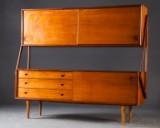 Cabinet/sideboard/chest in teak for Bank Larsen