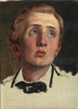 Ubekendt kunstner. Portræt af Jonas el. Edvard Collin, 1800-tallet