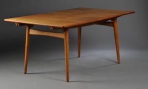 Hans J. Wegner, 1914-2007. Dining table, model AT-310, teak and oak ...