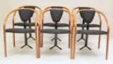 Toshiyuki Kita, six chairs model Tacchi for Aidec Japan (6)