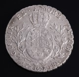 Norge. Christian VII, speciedaler 1781 HIAB - NM 7, H. 2