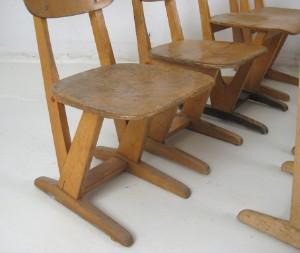 vare 4096391 konvolut st hle f r kinder schulst hle der 1960 70er jahre 13 diese ware steht. Black Bedroom Furniture Sets. Home Design Ideas