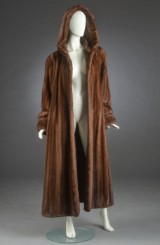 Brdr. Alex Petersen, fur coat of scanglow mink, approx. 42/44