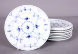 B&G og Kgl. P. Musselmalet hotelservice af porcelæn (9)
