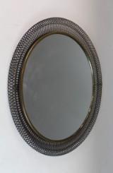 Runder Spiegel aus den 1960er Jahren