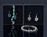 Samling sølvsmykker(6)