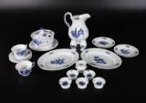 Royal Copenhagen, dele til Blå Blomst service, porcelæn (20)