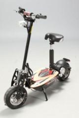 Elektrisk løbehjul.  48 V - 1300 W Turbo motor, SORT