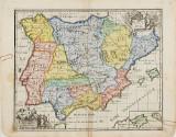 Spanien kartor av Cluver och Djurberg