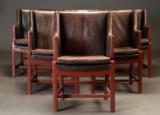 Palle Suenson og Hans J. Wegner. Seks lænestole, 1940/1950'erne (6)