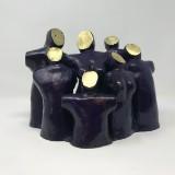 Marius Bruggemann, Bronzeskulptur, 'Figurengruppe'