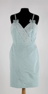 Christian Dior, klänning, pärlbrodyr, strl. 38