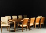 Carl Malmsten, dining suite, 'Stockholmiana', 1940/50s (11)