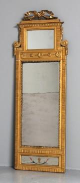 Spegel, förgylld, sengustaviansk, 1700-tal