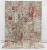 Matta, Carpet patchwork, handsydd 300 x 202