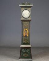Standur, grønbemalet urkasse, 1800-tallet