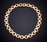 Halscollier af 14 kt. guld Denne vare er sat til omsalg under nyt varenummer 2938715