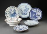En samling keramik, 1700/1900-tallet (6)