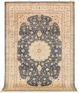 Rug, silk Kashmir, 273 x 186