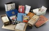 samling af frimærker og mønter